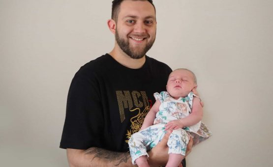 Adam Hovey – Graphic Designer and now a Dad….