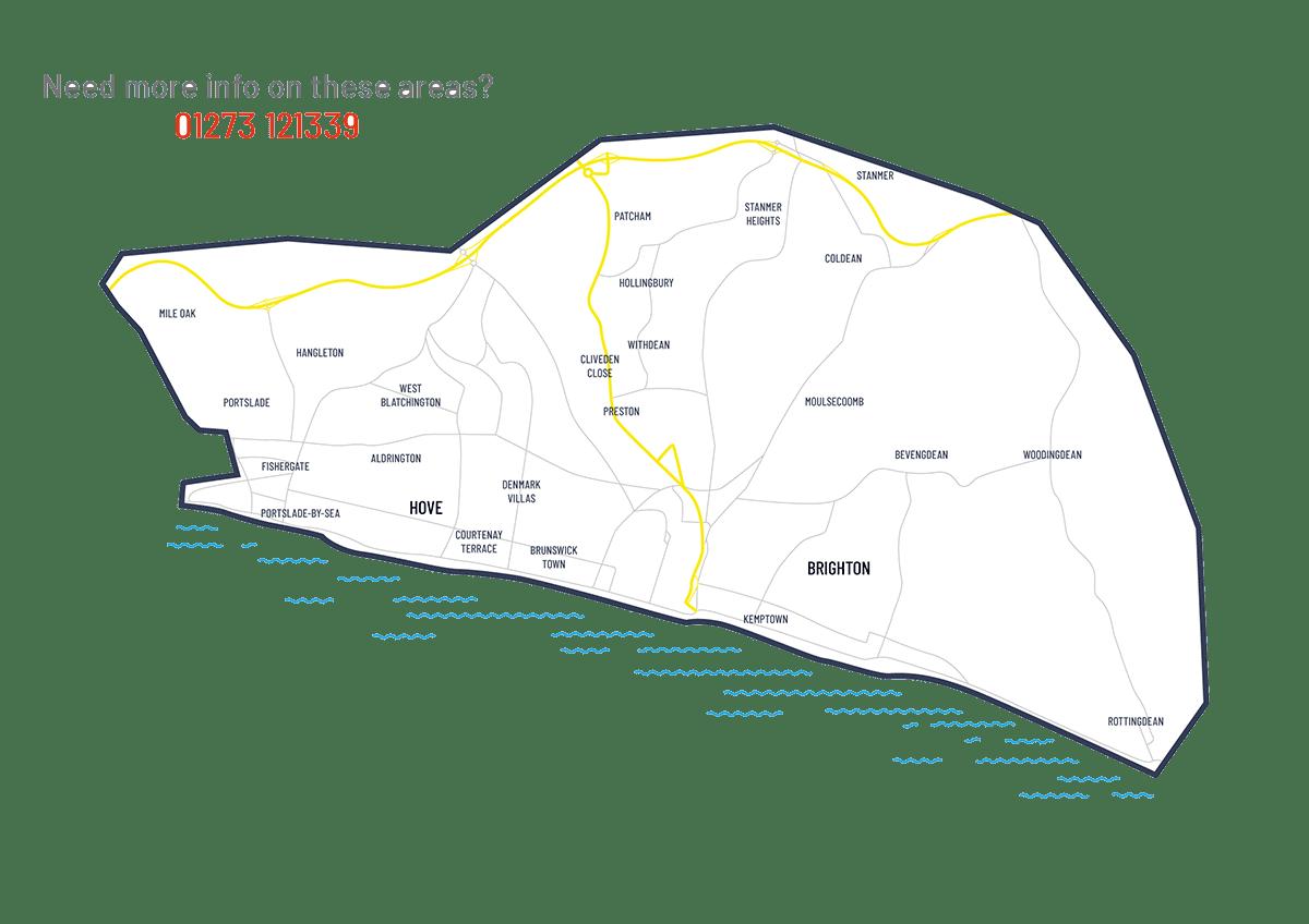 Leaflet distribution Brighton
