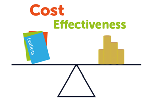 Spend your marketing budget wisely using cost effective tools.