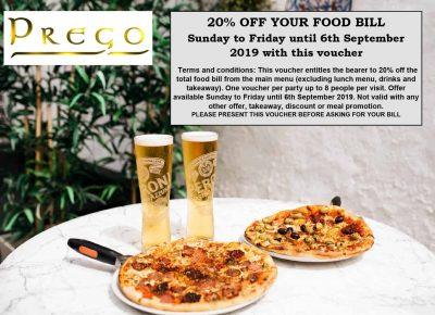 Case Study – Prego Italian Restaurant